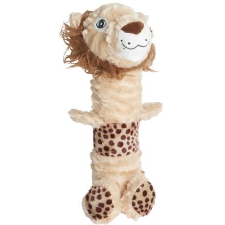 Happy Tails Durables Sponge Lion Dog Toy