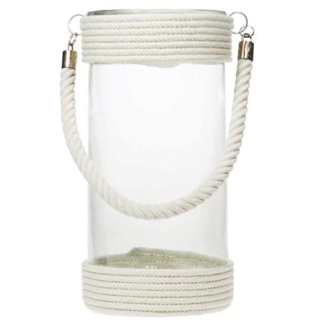 """Home Essentials & Beyond Home Essentials St. Barts Round Lantern - 12"""""""