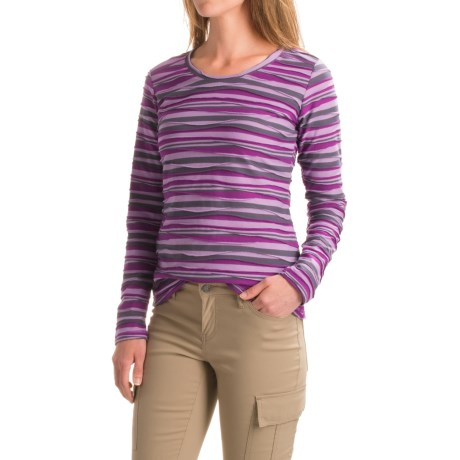 ExOfficio Techspressa Stripe Shirt - UPF 15+, Long Sleeve (For Women)