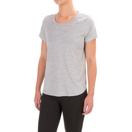 Apana Yoga Shirt - Scoop Neck, Short Sleeve (For Women)