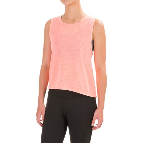 Apana High-Low Tank Top (For Women)