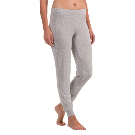 Max Studio Flat Waistband Jogger Pajama Pants (For Women)