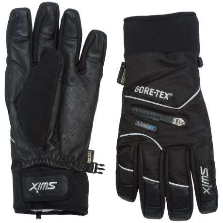 Swix Rage Gore-Tex® Gloves - Waterproof, Insulated (For Men)