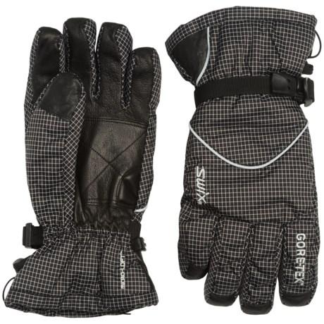 Swix Trekker Gore-Tex® Gloves - Waterproof, Insulated (For Men)