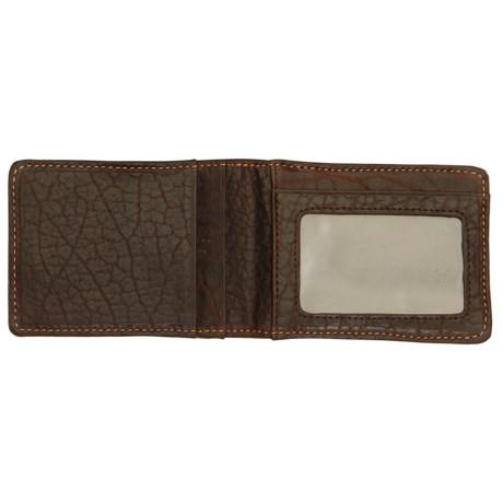 Thomas Bates American Bison Front Pocket Wallet