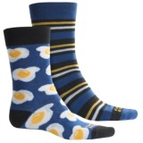 Funky Socks Lightweight Socks - 2-Pack, Crew (For Kids)