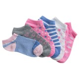 ESPRIT No-Show Socks - 6-Pack, Below the Ankle (For Girls)