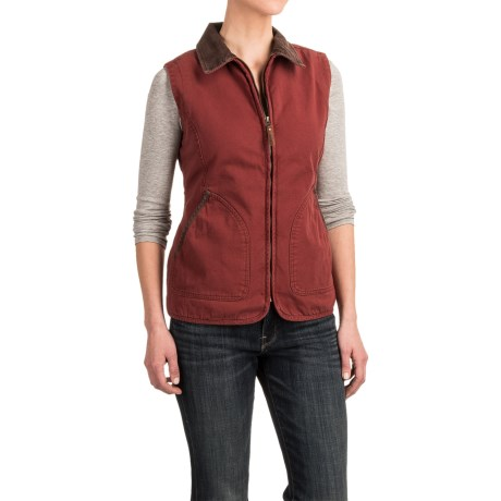 Woolrich Dorrington Barn Vest (For Women)