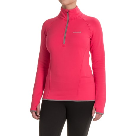 Avalanche Slalom Fleece Shirt - Zip Neck, Long Sleeve (For Women)