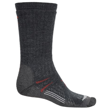 Lorpen T3 Midweight Hiker Socks - PrimaLoft®-Merino Wool, Crew (For Men and Women)