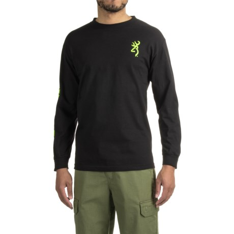 Browning Classic Logo Sleeve T-Shirt - Long Sleeve (For Men)