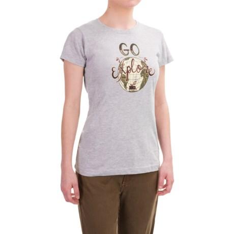 Realtree Girl Max-1 Go Explore T-Shirt - Short Sleeve (For Women)