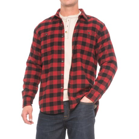 G.H. Bass & Co. Rockridge Buffalo Plaid Shirt - Heavyweight, Long Sleeve (For Men)