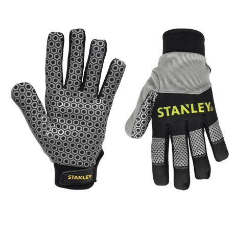 Stanley Silicone Gripper Work Gloves (For Men and Women)