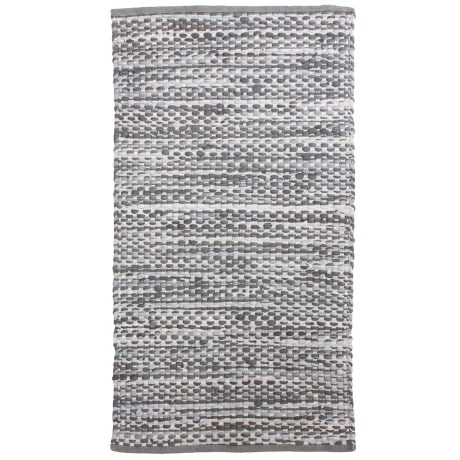 THRO Jewel Recycled Chindi Accent Rug - 27x45""