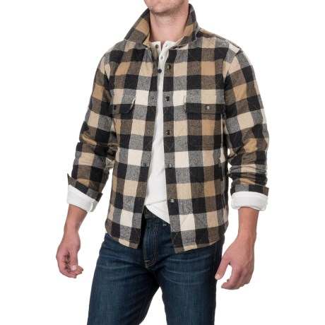 Woolrich Quilted Mill Shirt Jacket - Insulated (For Men)