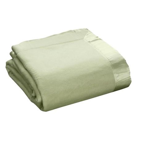 Melange Home Silk Plaza Blanket - Full-Queen