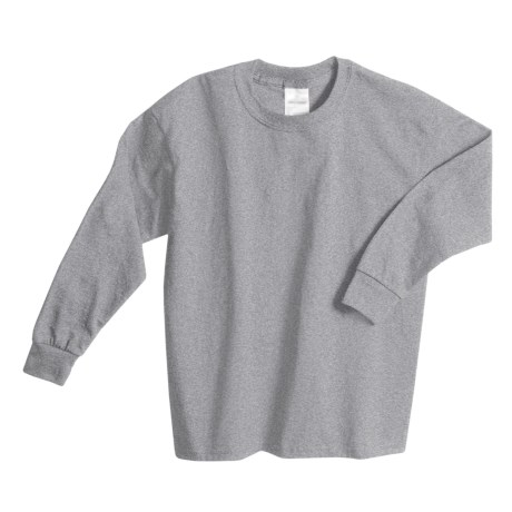 Hanes Comfortsoft T-Shirt -, Long Sleeve (For Youth)
