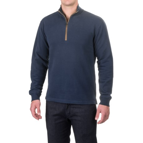 Woolrich Boysen Sweater - Zip Neck (For Men)