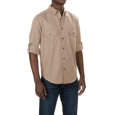 Woolrich Midway Solid Shirt - Long Sleeve (For Men)