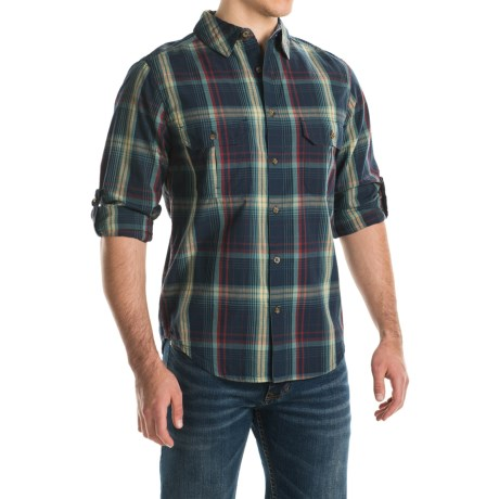 Woolrich Midway Yarn-Dyed Shirt - Long Sleeve (For Men)
