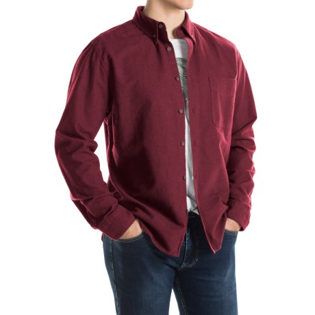 Woolrich Sportsman Chamois Shirt - Long Sleeve (For Men)