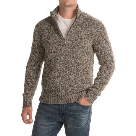 Woolrich Kennebeck Rag Sweater - Zip Neck (For Men)