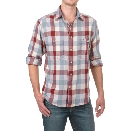 Woolrich Keystone Twill Shirt - Long Sleeve (For Men)