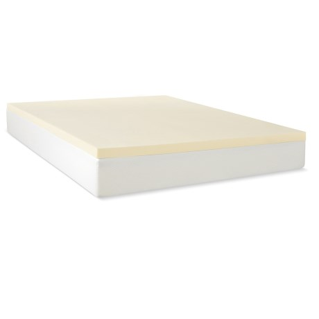 "Jeffco Fibres 1.5"" Mattress Pad - Queen, Memory Foam"