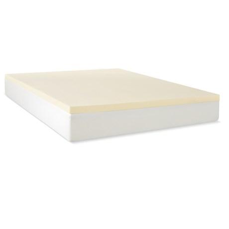"Jeffco Fibres 1.5"" Mattress Pad - Twin, Memory Foam"