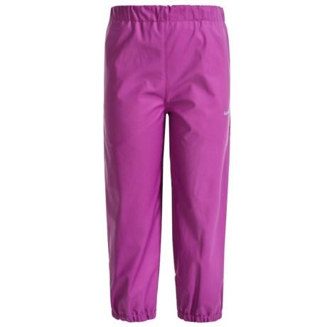 Kamik Solid Rain Pants - Waterproof (For Toddler Girls)
