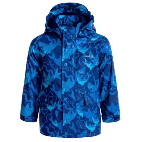 Kamik Printed Rain Jacket - Waterproof, Jersey Lined (For Little Boys)