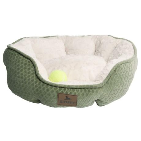 "STUFT Stuft Memory-Foam Dog Bed - 25x21"""