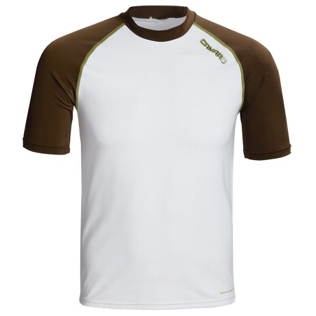 Camaro Mundaka Rash Guard Shirt - UPF 50+, Short Sleeve (For Men)