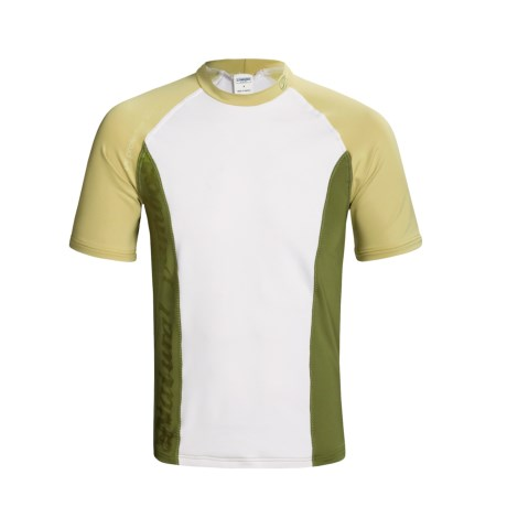Camaro Rash Guard - UPF 50+, Short Sleeve (For Men)