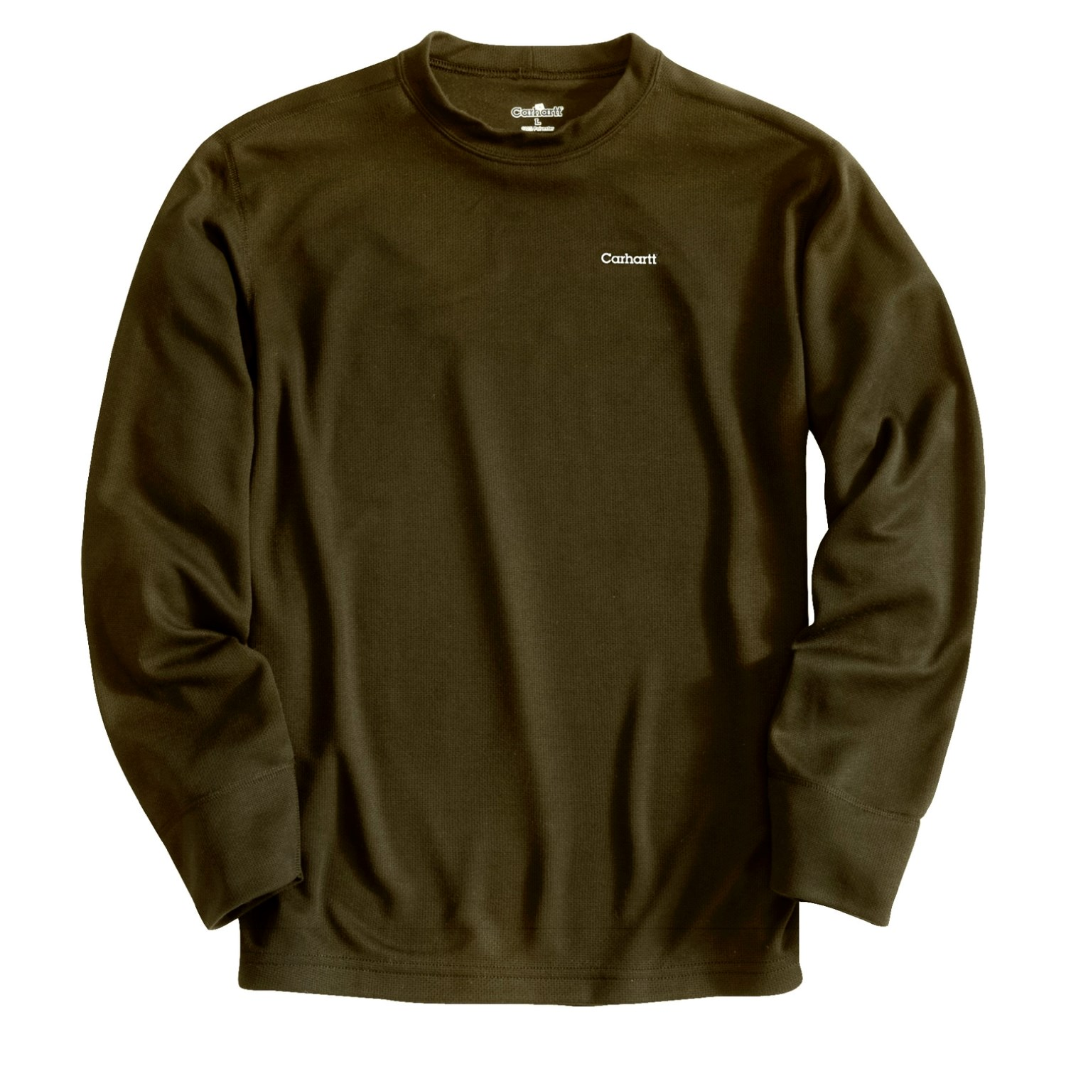 Carhartt work dry thermal base layer top for tall men 2239f for Carhartt work dry t shirt