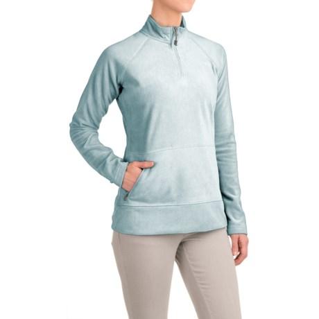 Gramicci Utility Zip Neck Fleece Shirt - Long Sleeve (For Women)
