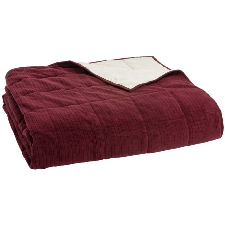 Berkshire Blanket Polartec® Down-Alternative Blanket - Twin, Reversible