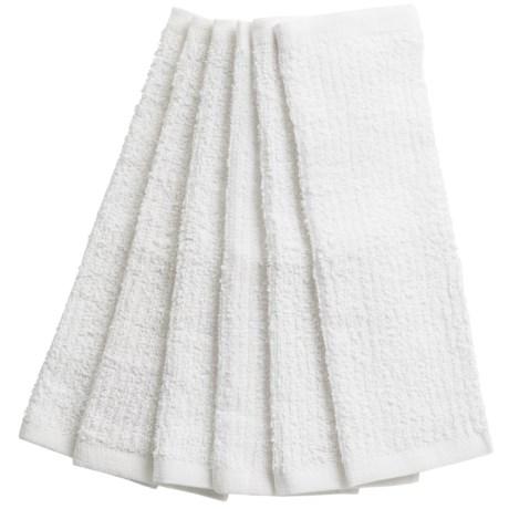 KAF Home Bar Mop Kitchen Towels - Set of 6