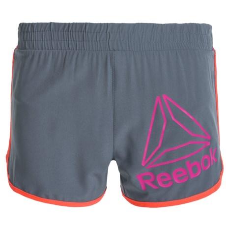 Reebok Delta Active Shorts - Built-In Briefs (For Big Girls)