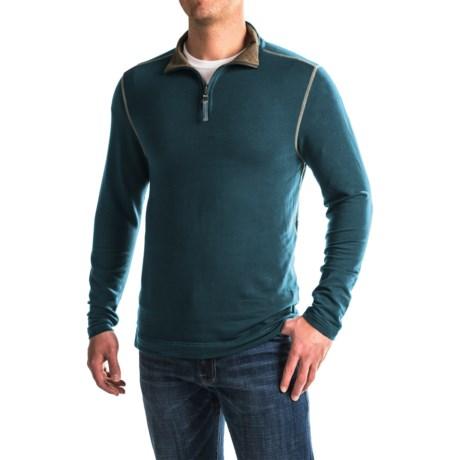 True Grit Lightweight TENCEL® Shirt - Zip Neck, Long Sleeve (For Men)