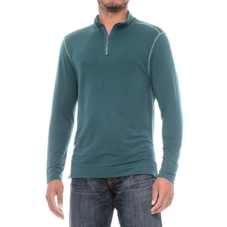 True Grit Lightweight TENCEL® Shirt - Zip Neck, Long Sleeve (For Men)