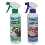 Nikwax Footwear Cleaning and Waterproofing Duo Pack - 10 fl.oz. Each