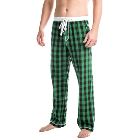 True Grit Buffalo Check Flannel Lounge Pants (For Men)