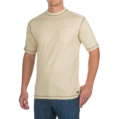 Stanley Slubber Pocket T-Shirt - Short Sleeve (For Men)