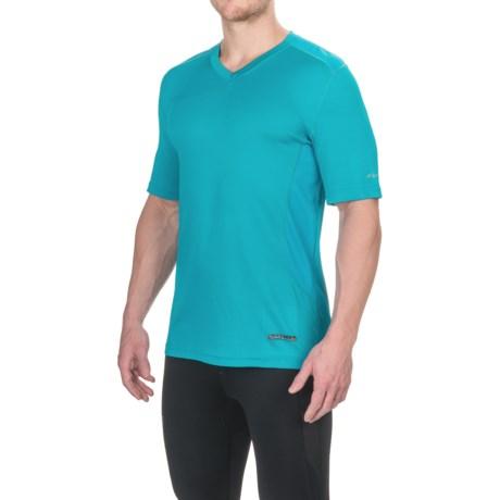 Terramar V-Neck T-Shirt - UPF 50+, Short Sleeve (For Men)