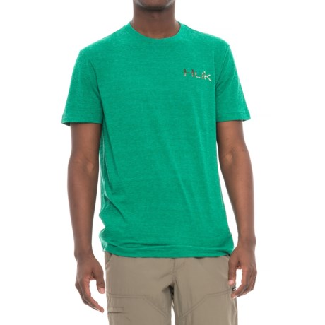 Huk KC Scott Small Mouth T-Shirt - Short Sleeve (For Men and Big Men)