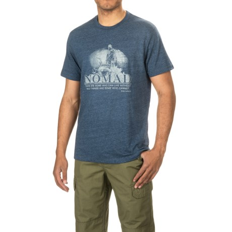 NOMAD Nomad Wild Things T-Shirt - Crew Neck, Short Sleeve (For Men and Big Men)