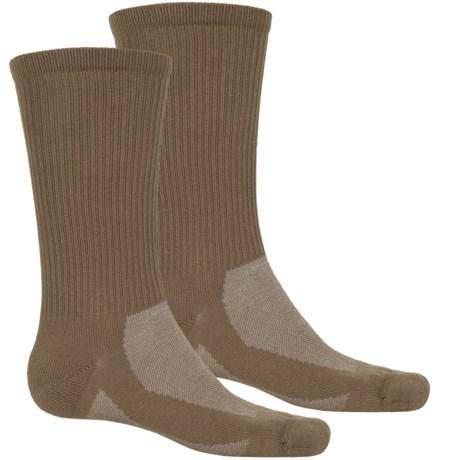 Timberland CoolMax® Hiking Socks - 2-Pack, Crew (For Men)