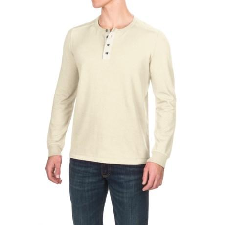 Gramicci Dawn Henley Shirt - Hemp-Organic Cotton, Long Sleeve (For Men)